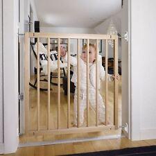 BabyDan Budget Wooden Pet Gate Economy Wood Dog Puppy Gate Barrier 72cm-78.5cm