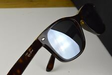 Ray-Ban NEW Wayfarer RB2132 55mm Sunglasses Mirror Silver Polarised Lens
