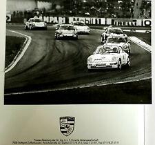 PRESSEMAPPE PRESSEINFO MOTORSPORT 1991 PORSCHE 911 CARRERA 2 CUP SAISONBEGINN