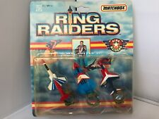 Ring Raiders, Commander Victor Vector, Vintage, Matchbox, 1989