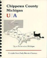 MI Chippewa County history Luce Sault Ste. Marie 1883 Michigan Upper Peninsula