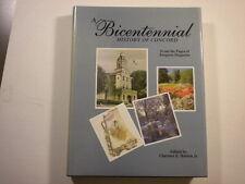 'A Bicentennial History of Concord' North Carolina 1996 HC/DJ