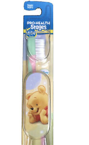 Kid's Oral-B Oral B Disney Baby Winnie the Pooh Soft Toothbrush (0-2 Years)
