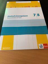 deutsch.kompetent 7/8. Klassenarbeiten und Tests. Lösungen