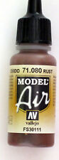 Vallejo Model Air Paint: 17ml  71080 Rust