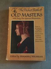 THE POCKET BOOK OF OLD MASTERS #578 1949 ILLUSTRATED PAPERBACK