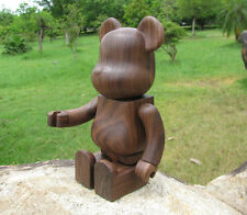 Customized 200%(14.5cm) Wood Bearbrick Be@rbrick Made w/ Black Walnut Wood