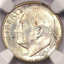 1946-D Roosevelt Dime 10C - Certified NGC MS67 FT - Rare in MS67 FB - $144 Value