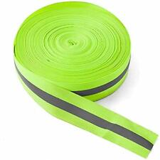 High Visibility Reflective Tape Strip Fabric Florescent 098in039in Green