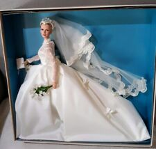 Rare GRACE KELLY THE BRIDE 2011 Barbie Doll~Gold Label~BFMC~T7492~NRFB