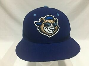 CAP HAT DAYTONA BEACH CUBS MINOR LEAGUE BASEBALL BLUE NEW ERA SIZE 6-7/8 FITTED