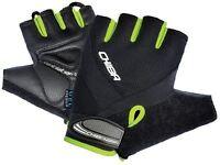 Chiba Air Plus Line Mitt Black/Neon Large Mountain Bike Cycling Gloves