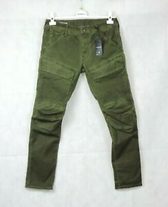 G Star Raw Green Air Defence 5620 3D Slim Size 32/31 Rrp £100 CR110 CC 02