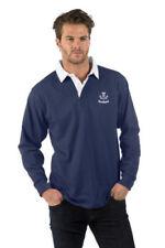 Camicie casual e maglie da uomo blu in poliestere taglia XXL
