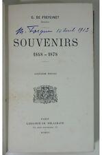 Freycinet C. De - Souvenirs 1848 - 1878