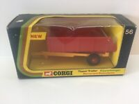 Vintage Corgi 56 Tipper Trailer  Mint and Boxed