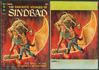 1966 U.S. GOLD KEY THE FANTASTIC VOYAGES OF SINDBAD No. 2 Comics