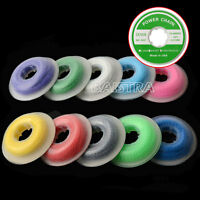 10 Pcs Dental Orthodontic Ortho Elastic Ultra Power Chain Continuous 10 Colors