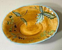 TRACY PORTER  Laurel Leaf Large Serving Bowl with Handles