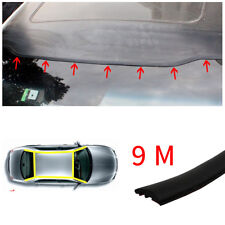 9M Rubber Seal Strip Trim Car Windshield Sunroof Weatherstrip Dust Sound proof