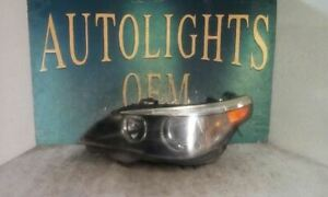 Driver Headlight With Xenon HID Fits 05-07 BMW 525i 71345
