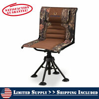 Rotating Hunting Blind Chair 360 Swivel Camo Foldable Portable 300 lbs. Capacity