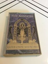 The Mission UK - God's Own Medicine Cassette Tape Tested Rare OOP Free Shipping