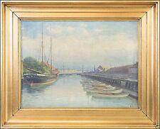 Künstlerische Malereien auf Leinwand im Impressionismus- & Schiff-Seefahrt