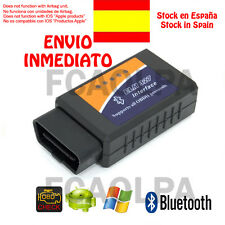 ELM327 BLUETOOTH MULTIMARCA DIAGNOSIS V2.1 OBDII OBD2 COCHE  SCANNER ELM 327 CAR