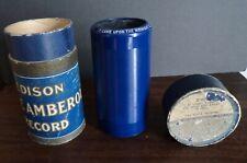 Edison Blue amberol phonograph cylinder no.2769 Christmas Carol