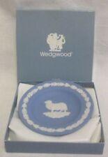Trinket Dish Blue Vintage Original Wedgwood Porcelain & China