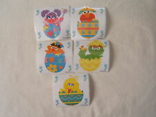5 Sesame Street Easter   Stickers Party Favors