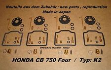 Honda CB 750 Four K2 Vergaser - Rep. Satz 4 x neu carburator repair kit CB750K2