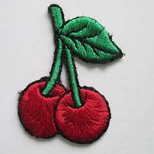 Kirschen Aufnäher / Aufbügler cherries patch Kinder cherry Kirsche Rockabilly