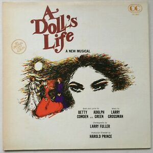 A DOLL'S LIFE - A New Musical (LARRY FULLER/HAROLD PRINCE)  1982 OC RECORDS EXC