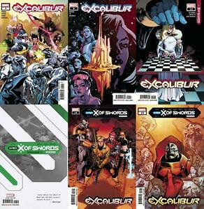 Excalibur (Issues #7 to #15 inc. Variants, 2020)