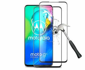 Tempered Glass Full Screen Protector For Motorola Moto G Fast/G Power/G Stylus