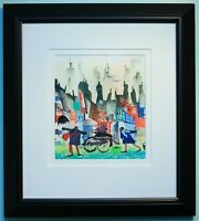 SUE HOWELLS Genuine Original Signed Watercolour Painting Framed (NOT A PRINT)