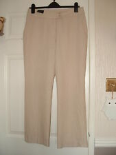 Beautiful pair of Trousers stone colour, size 12 Petite from BHS