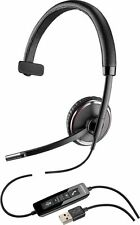 New Plantronics Blackwire C510M Monaural PC Headset Optimized for Microsoft Lync