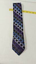New VAN HEUSEN MULTI COLORS WOVEN GEOMETRIC SILK MENS NECKTIE ~ Ships FREE