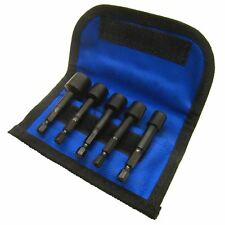 5pc Damaged Bolt Remover Easy Out Stud Extractor Set ( 6mm - 12mm ) SIL09
