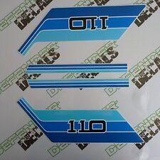 LAND ROVER DEFENDER 110 Commercial Pickup Aftermarket DECAL Stripes Sticker SET