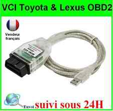 SCANNER CABLE MINI VCI TOYOTA LEXUS SCANNER DIAGNOSTIQUE TECHSTREAM - DIAG OBD2