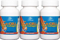 3 bottles Co-Cell Type II Collagen, Chondroitin Sulfate 90 Capsules/bottle