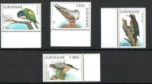 SURINAME SG1767-1770 BIRDS 1998  MNH