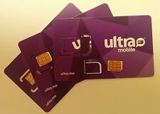 ULTRA MOBILE FACTORY TRIPLE CUT. T-MOBILE NETWORK. SIM WILL FIT IN ANY GSM PHONE