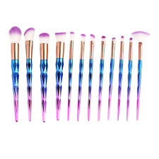 Kit 12x Femme Trousse Brosse Pinceaux Bonbon Maquillage Cosmétique Brush Mode