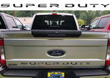 Matte Black SUPER DUTY Tailgate Inserts For 2017+ Ford F250 F350 New Free Ship