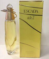 Escada acte 2 3.4oz Parfum Spray
